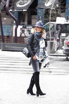 GREY Stylus, Winter Jackets, Punk, School, Grey, Black, Fashion, Winter Coats, Gray