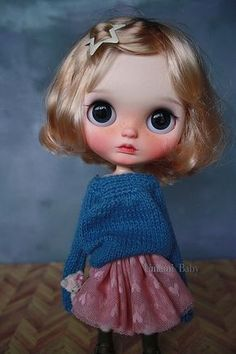 Learn more about Umami Baby - the brand name of Jan Yong, a Blythe dolls customizer from Singapore. Ooak Dolls, Blythe Dolls, Kawaii Doll, Creepy Dolls, Little Doll, Minnie, Custom Dolls, Ball Jointed Dolls, Doll Face