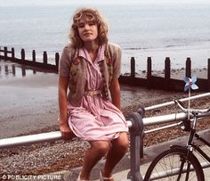 """Emily Lloyd plays the young Cynthia Payne in """"Wish You Were Here"""""""