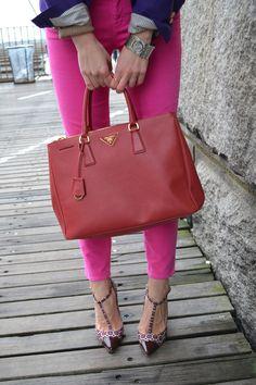 ac94eb1d9bf7 51 Best Prada Galleria Bag images   Fashion handbags, Prada bag ...