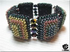 RAW-bracelet I found the pattern  it is with pictures only and under the tab newer