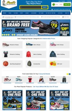 "24Seven Cart Developed ""Paul's Warehouse"" Web Store and Integrates with Microsoft RMS Cart."