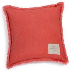 Cuscino in lino rosso mattonella 50 x 50 cm ARDECHE 29,99 maisondumonde