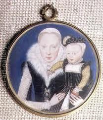 LEVINA TEERLINE (1520-1576) fu l'unica ritrattista in miniatura di origine fiamminga impegnata a corte e l'unica miniaturista famosa ricordata in Inghilterra tra la morte di Hans Holbein il giovane(1523) e la comparsa,nel decennio (1570-80, di Nicolas Hilliard .Biografia