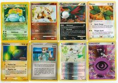 Pokemon lot of 8 cards WITH RARES ALL PICTURED Not Perfect with Venusaur