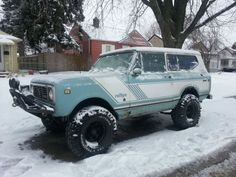 I want a scout more than anything else in the world.    1976 International scout 2