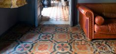 """Sicily"" our exclusive southern Italian styled cement tile .  Villa Lagoon Tile"