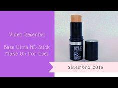 Vídeo Resenha: Base Ultra HD Stick, Make Up For Ever  https://youtu.be/H8E2hcqDGik