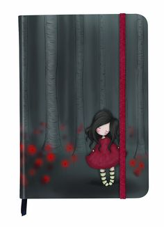 Santoro Gorjuss Hardcover Notebook - Poppy Wood: Amazon.co.uk: Office Products