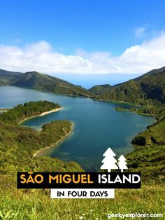 """The Ultimate Itinerary of São Miguel Island"" by an Azorean «This is the exact road trip itinerary I use when I get friends visiting São Miguel island and now I'm sharing it with you» said Geeky Explorer Learn more about our beautiful islands with us! www.bensaude.pt #azores"