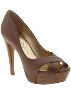 Jessica Simpson always had good style - Jessica Simpson Agomez High Heels