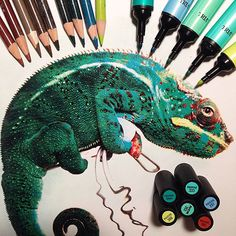 Artist Karla Mialynne shows us the tools she uses to create her series of incredibly realistic animal drawings. Realistic Drawings, Cat Painting, Animal Art, Hyperrealism, Art Drawings, Detailed Drawings, Pictures To Draw, Realistic Animal Drawings, Realistic Art