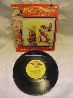 VINTAGE 1962  Captain Kangaroo 78 rpm Vinyl Record