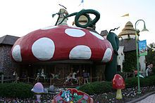 Give kids the World Village, in Orlando      http://en.wikipedia.org/wiki/Give_Kids_The_World_Village
