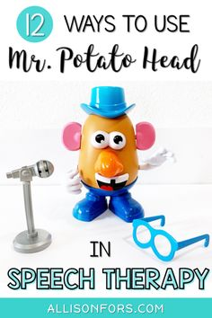 12 Ways to Use Potato Head in Speech Therapy - Allison Fors