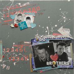 Brothers - Scrapbook.com