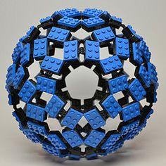 Rhombic Triacontahedron (Dead Homer) Tags: ball lego sphere math polyhedron