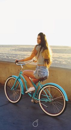 sixthreezero Teal Beach Cruiser