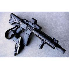 AR15 with Glock