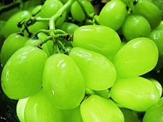 Grapes #Green #Fruit