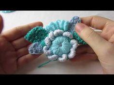 Freeform Crochet, Crochet Motif, Irish Crochet, Crochet Flowers, Crochet Stitches, Cute Crochet, Crochet Crafts, Crochet Projects, Crochet Instructions