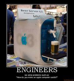 Transformation of iMac G3 into Beer Server