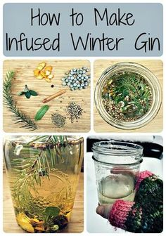 How to Make Infused Winter Gin