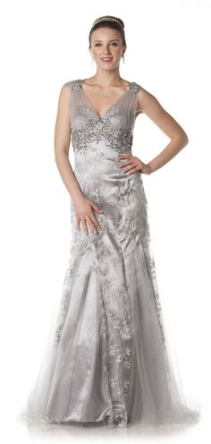 1000 images about 25th wedding anniversary ideas on for Silver wedding dresses 25th anniversary