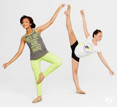 Stretch your limits with our Justice-exclusive collection of dancewear!
