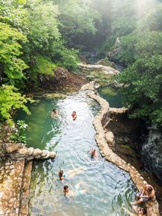 Hot springs, Guanacaste, Costa Rica