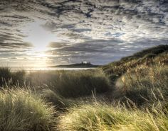 Dunstanburgh Castle, Dawn, Celestial, Sunset, Outdoor, Outdoors, Sunsets, Outdoor Games, The Great Outdoors