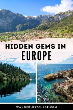 The best hidden gems in Europe include mountain towns in Italy, overlooked islands in Croatia, the ultimate detox spot in Sweden and an unusual ski resort. From Spain and Germany to the UK, find out the bucket list destinations to visit off the beaten path in Europe. There are so many beautiful places away from the crowds. It's time to find out about some seriously top secret places in Europe! #EuropeTravel #VisitSpain #VisitCroatia #TravelInspration #TravelPhotography #Wanderlust Europe Travel Guide, Backpacking Europe, Spain Travel, Italy Travel, Travel Destinations, Croatia Travel, Travel Plan, Travel Ideas, Places In Europe