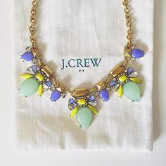 JCrew necklace //Stylish Sassy and Classy