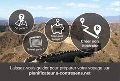 Planifiez votre voyage rapidement et facilement à l'aide du planificateur de voyage A-contresens. Toutes les réponses à vos questions sur le budget, les climats, les meilleurs périodes sur un seul et même outil.