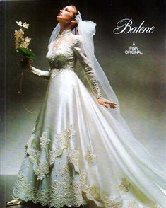 Vintage Wedding Photos, Vintage Weddings, 1980s, Wedding Gowns, Brides, The Past, Fashion Models, How To Wear, Magazine