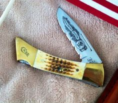 CASE XX HUNTING HERITAGE LOCKBACK COLLECTOR'S KNIFE