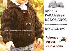 Crochet and Two Needles - Woven Patterns Boys Sweaters, Men Sweater, Google Custom, Petra, Salvador, Baby Ideas, Lana, Bb, Patterns