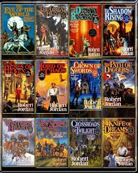 The Wheel of Time series:  This is an amazing series of 14 exciting adventure novels.  I could not put them down!