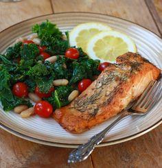 Roasted Dill-Mustard Salmon recipe