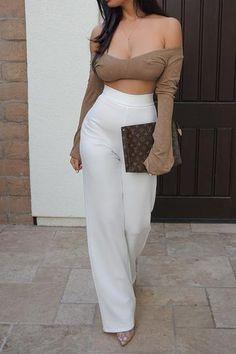 New Style Black Women Moda Ideas Sexy Outfits, Cute Outfits, Fashion Outfits, Trendy Fashion, Fashion Beauty, Womens Fashion, Fashion Trends, Style Fashion, Trendy Style