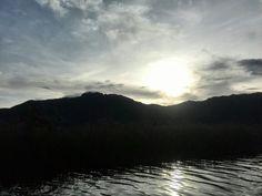 La tarde en la laguna