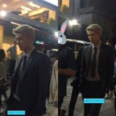 "161017 Sehun was seen filming for ""Dear Archimedes"". Cr. Owner"