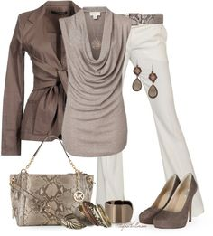 """Michael Kors Bag"" by tufootballmom on Polyvore"