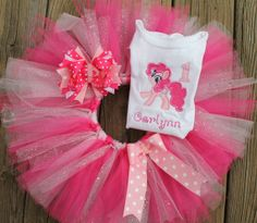 OMG this is exactly what i want for my birthday girl My little pony Birthday Sparkle Tutu Set