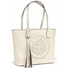 Brighton only uses the most high-quality materials in its leather tote bags for women. Browse our entire collection of designer totes and tote bags today! First Mothers Day Gifts, Mini Hoop Earrings, Leather Conditioner, Short Necklace, Matching Necklaces, Blue Rings, Leather Handbags, Purses, Leather Interior