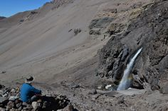 Cascada del Inca, en el lugar existe un adoratorio indígena de más de 500 años.