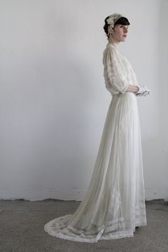 Pre Edwardian Dress