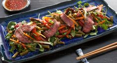 Spice up your lunch with zingy Grilled Beef Vietnamese Salad.