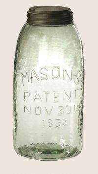 Love this old mason jar!!