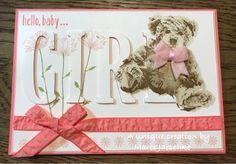 Stampin Up - Baby Bear